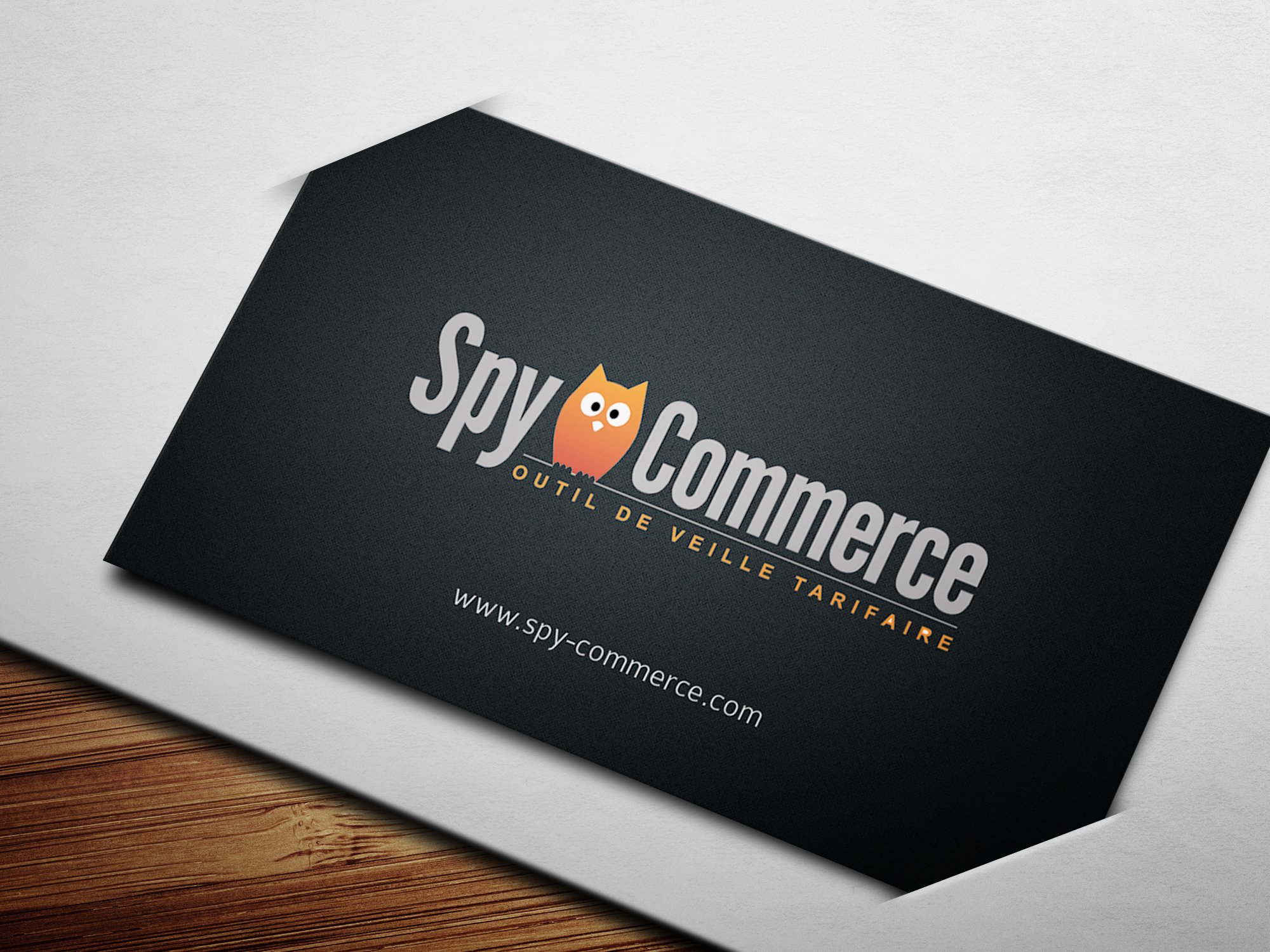 Carte de visite Spy Commerce